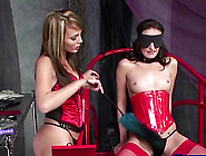 Electro Stimulation Dildos And Hot Wax While Tied Up Lead To Int