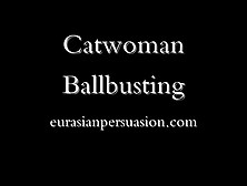 Catwoman Ballbusting