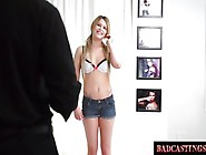 Shy Mia Strips For Casting Audition