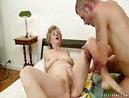 Godly Old Woman Gives An Amazing Bj