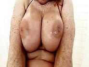 Busty Redhead Milf Slut Mischael Channson Rides A Hard Cock