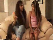 Hot Mature Lesbian Seduces Lovely Young Asian Girl