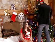 Merry Big Cock Christmas For This Latina Babe Alexa Nicole