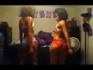 2 Gorgeous Black Girls Wit Nice Ass Dancing Shake Boot