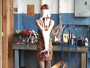 Blindfold Bandage Bondage Walk
