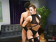 Kinky Milf Likes To Put On Erotic Outfit And Play With Her Young