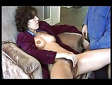 Mature Woman With Super Hairy Pussy Started Masturbating In Fron