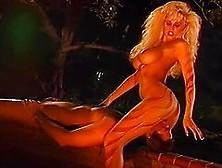 Tarzan Fucks His Wild Girlfriend In The Forest At Night