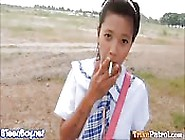 Barely Legal Filipino Schoolgirl