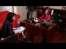 Brunette realtor does anything to sign the contract - 2 part 3