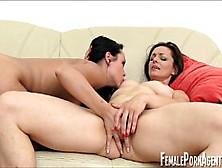 Fun Casting Scene Woman Woman