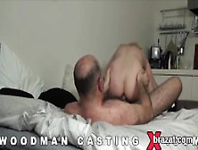 Casting Centerfold Walks Off After Hardcore Sex And Anal Fucking