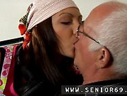 Sexy Lesbians And Old Boss Young At That Moment Silvie Comes In