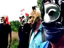 Scary Men Gang Bang