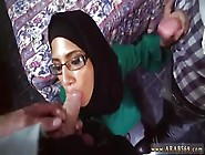Arab Wife On Her Knees