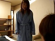 Ayana Mochida With Panties In Her Mouth Is Stuffed Full Of Cock