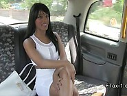 Busty Ebony Escort Interracial Fucks In Fake Taxi