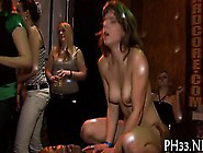Yong Attractive Gals In Club Are Happy To Fuck