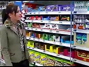Horny Slut In The Supermarket