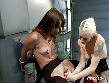 Horny Scientist Lesbians Have Kinky Fun At The Lab