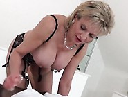 Cheating English Milf Lady Sonia Shows Her Big Titties