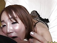 Asian Ladyboy With Big Tits In Lingerie Gets Ass Fucked