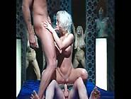 Amazing Big Tit Blonde Anal Ffm Threesome