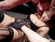 Best Japanese Whore Rio Fujisaki In Crazy Lingerie,  Stockings Ja