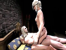 Ciri In The Witcher Have Sex