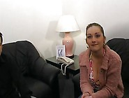 French Anal Casting - Big Titts