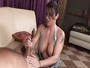 Big Tits Girlfriend Gives A Great Handjob And She Gets Rewarded