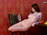 Glasha Is A Very Cute Girl And She Wants To Get Totally Nude Now