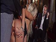 Beautiful Blonde In Nude And Heels Fucked On Couch - Dorcel