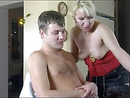Hot Milf Seduces Her Man With Sexy Stockings And Fucks Him