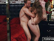 Lena Paul Is Often Getting Creampied After Fucking,  Because She