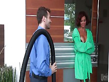 Ginger Woman Gets Banged Hard