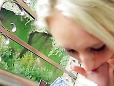 Eurobabe Jennifer Simons Bonks Stranger Man In Public