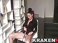 Krakenhot - Homemade Bdsm Casting With A Hot Brunette Milf