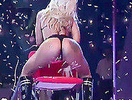 Extreme Wild Real Lapdance On Public Sex Show Stage With Hot Big