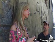 An Incredible Threesome With Hot Shemales Vandayme And Bianca Se