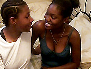 Ebony Girlfriends Explore Their Pussies With Tongues In 69 Posit