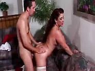 Horny Cougar Eats Young Cock