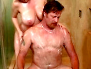 Hot Soapy Handjob Babe