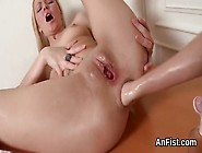 Anal Fisting And Extreme Penetrations With A Russian Logan Bella