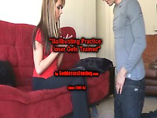 Ballbusting 101 Loser Gets Trained  I