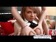 Schoolgirl Iren Asks For Help To Finger Her Pussy
