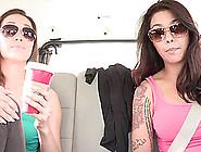 Sexy And Seductive Lezzies Dana Vespoli And Kalina Ryu In Naught