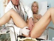 Mature Romana Gynochair Pussy Speculum Examination By Gyno Docto