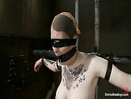 Vulnerable Pain Slut Pussy Get Pulverized By The Meanest Machine
