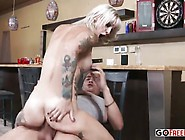 Horny Blonde Kleio Valentien Face Fucked And Pounded Hard